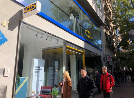 Ikea city store in Madrid