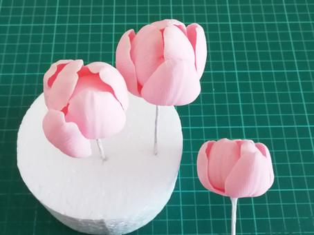 A non-botanically correct tulip