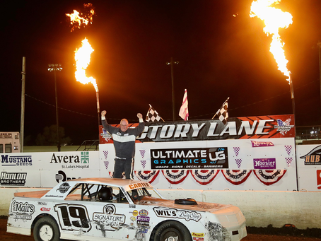 Todd Carter Wins Street Stock Tour; I-94 Sure Step Falls Short to Weather