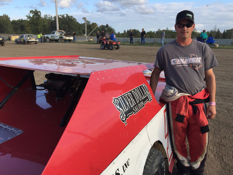 Zender Savoring First Career Midwest Modified Win