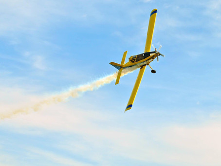 Bluhm Right at Home Piloting a Plane -- and A Race Car