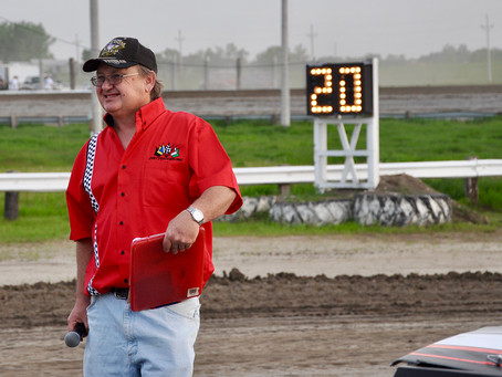Catching Up With: Lisbon Racing Announcing Legend Roger 'Pokey' Lukes