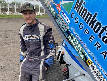 Zach Omdahl Learning the Ropes in NOSA Sprints