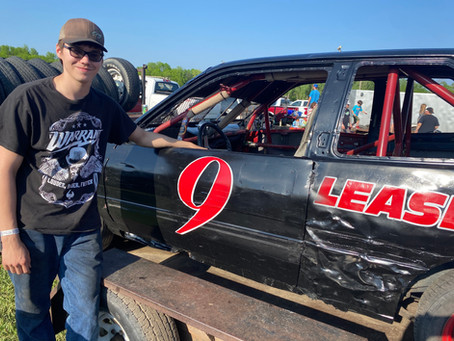 Lease Aims For Strong Finish in Short Trackers