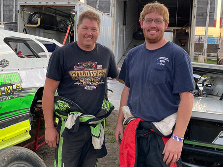 Schows Enjoy Racing Atmosphere On and Off the track