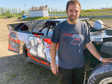 Greseth Makes Smooth Transition to Late Models
