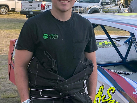 Kesselberg an Up and Coming Talent in IMCA Stock Cars