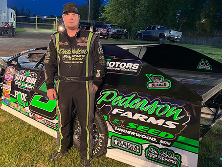 Pederson Settles Back into Wissota Midwest Modified Class