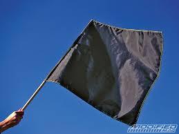 The Black Flag Debate in Racing