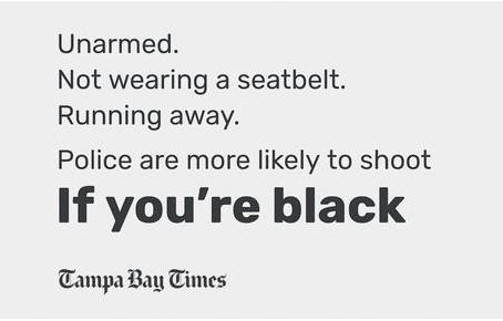 List of Unarmed Blacks Killed By Police