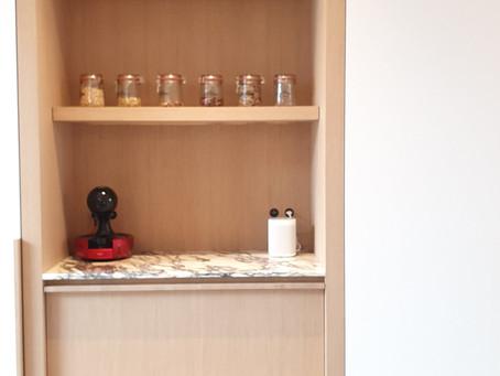 Van overbodige ruimte naar hedendaags keukenproject
