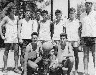 שאול אליפות הפועל 1961 מקום ראשון