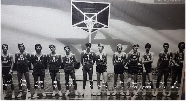 נבחרת ישראל כדורסל הלל גלבוע
