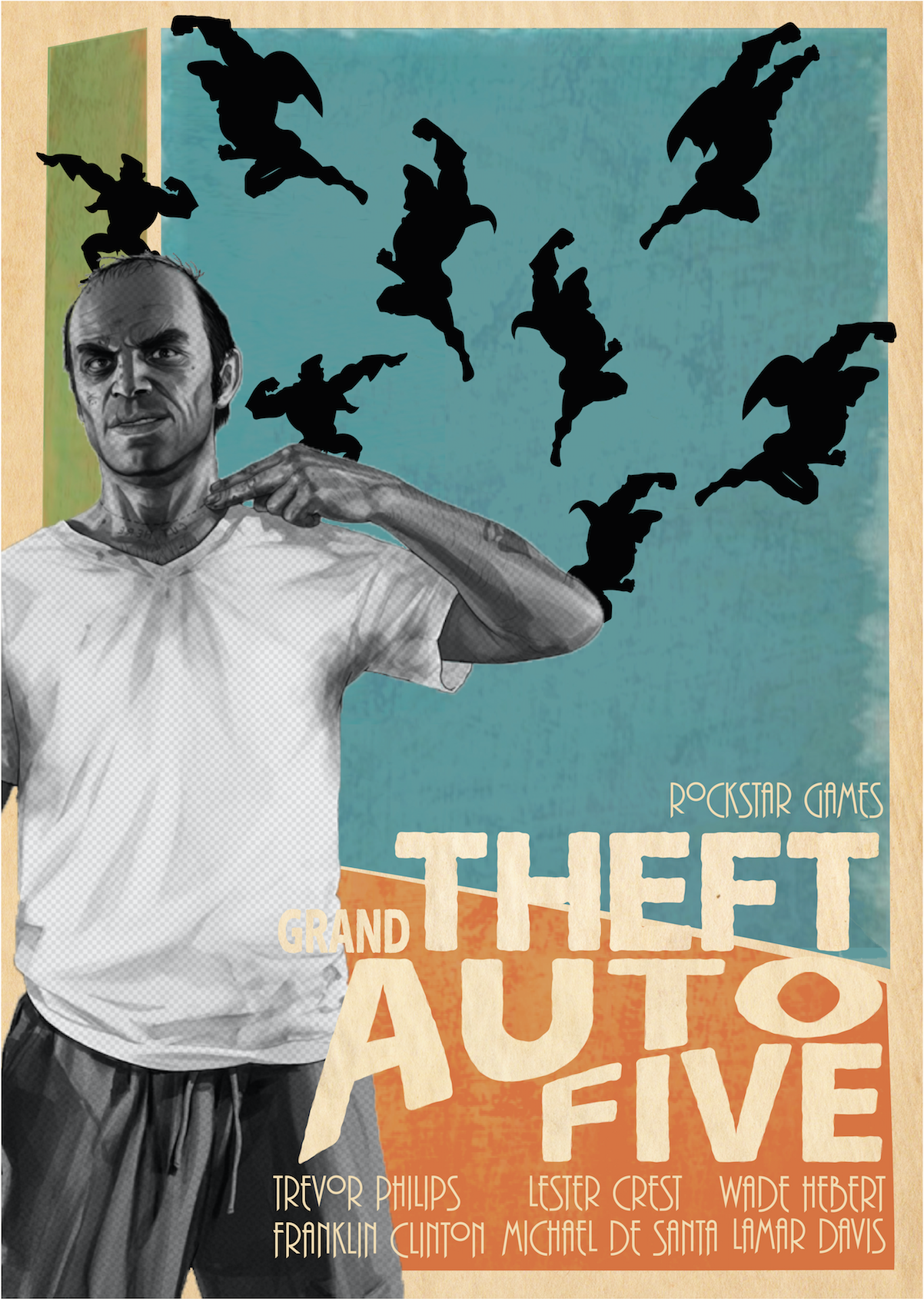 GTAV Poster