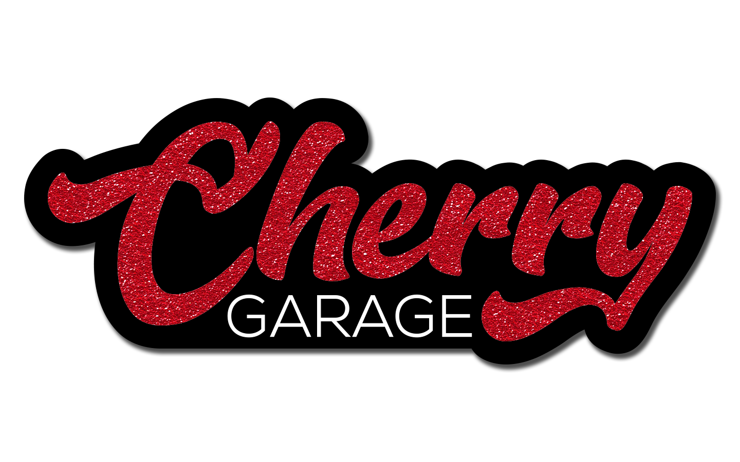 Cherry Garage Sticker