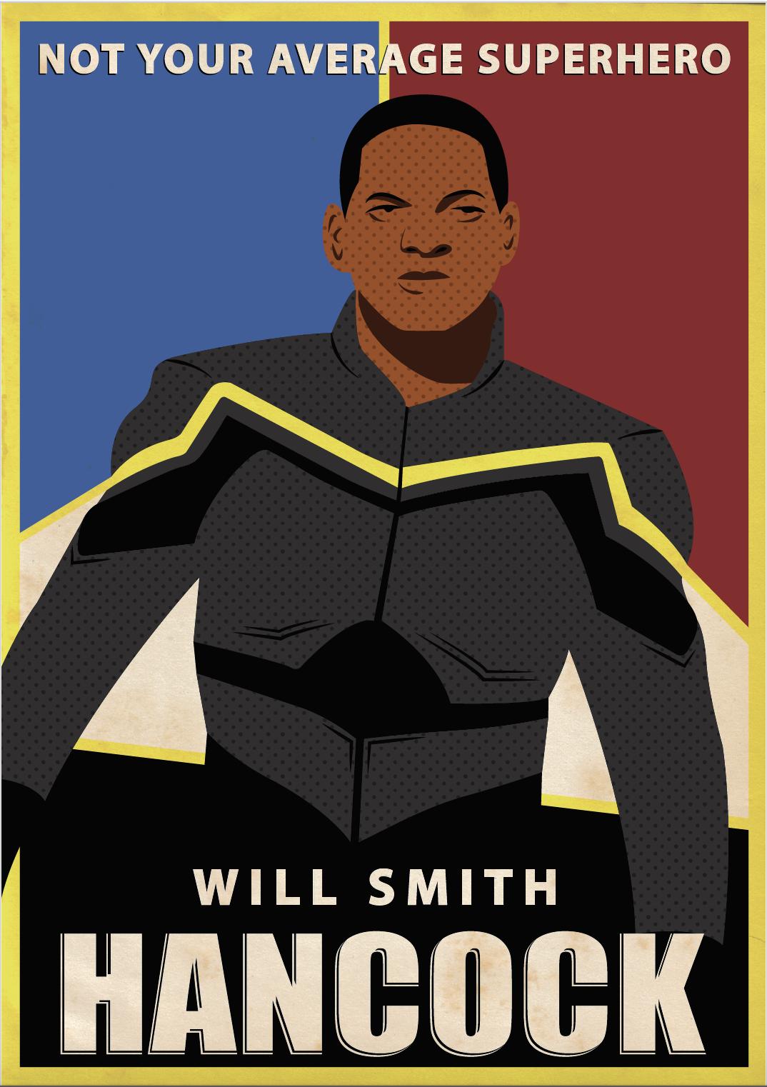 Hancock Poster
