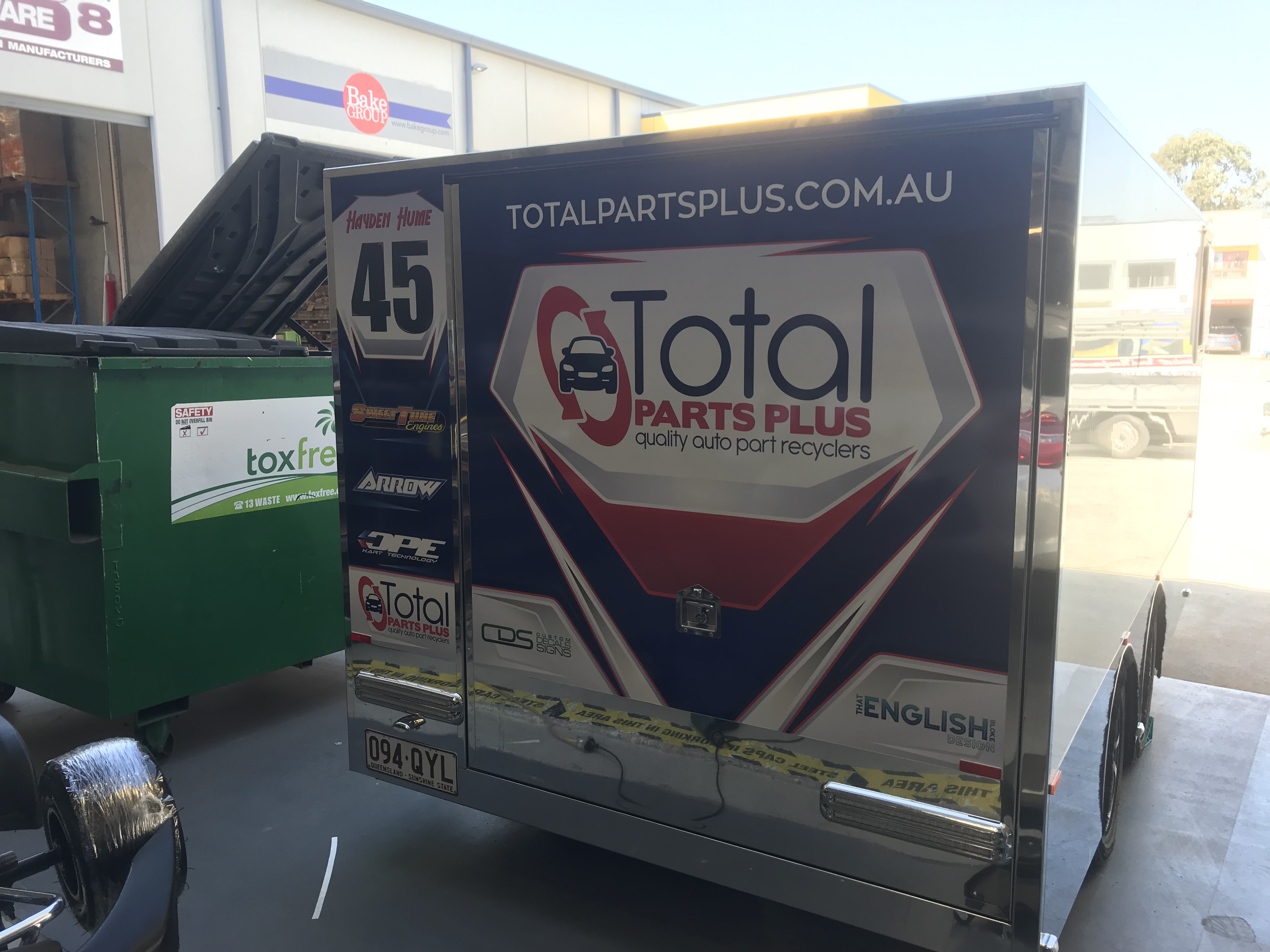 Total Parts Plus Trailer