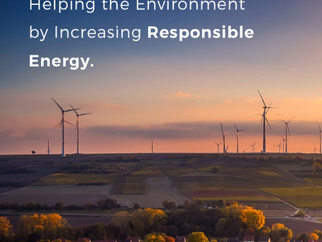 Helping the environment by increasing responsible energy