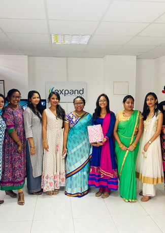 Expand Family Dressed for Diwali