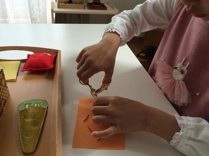 Montessori Primary Class (3-6 years old) | モンテッソーリ・プライマリクラス(3-6歳)
