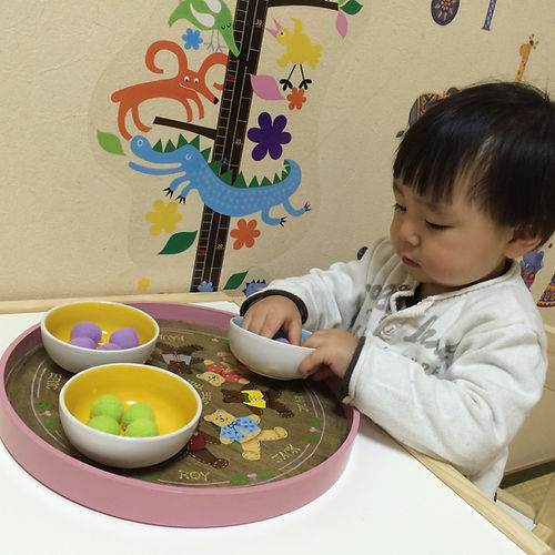 Montessori Infant Community (0-3 years old) - |  モンテッソーリ IC クラス(0-3歳)