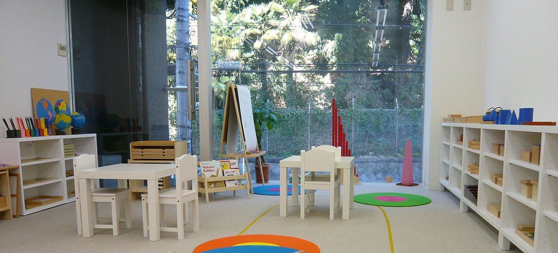 The Nest Montessori School Classroom View |ザ・ネスト・モンテッソーリ・スクール教室風景