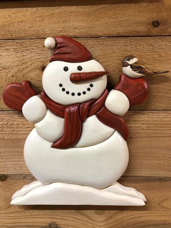 Intarsia Snowman  $175.