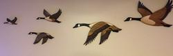 Intarsia Canadian  Geese