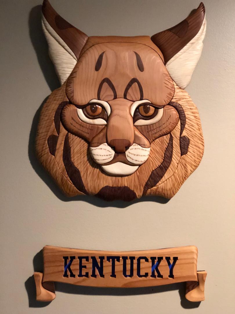 Intarsia Wildcat    $285