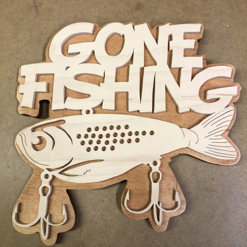 Gone Fishing    $30.