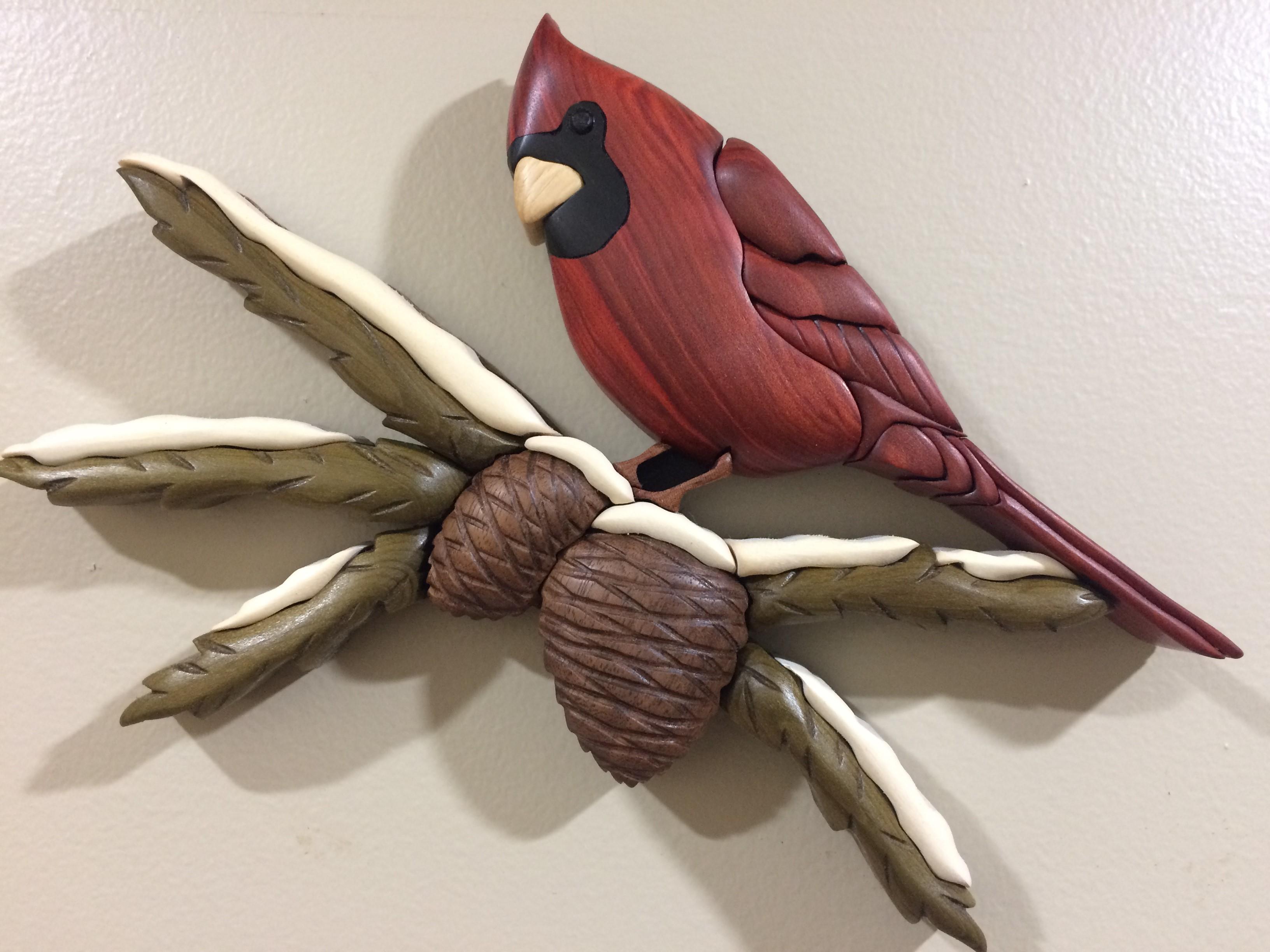 Intarsia Cardinal