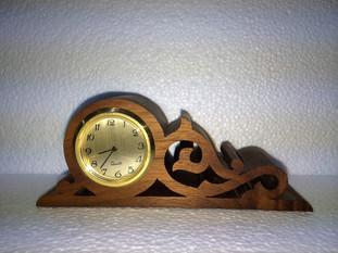 Mini Walnut Clock