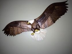"""37"""" Intarsia Eagle"""