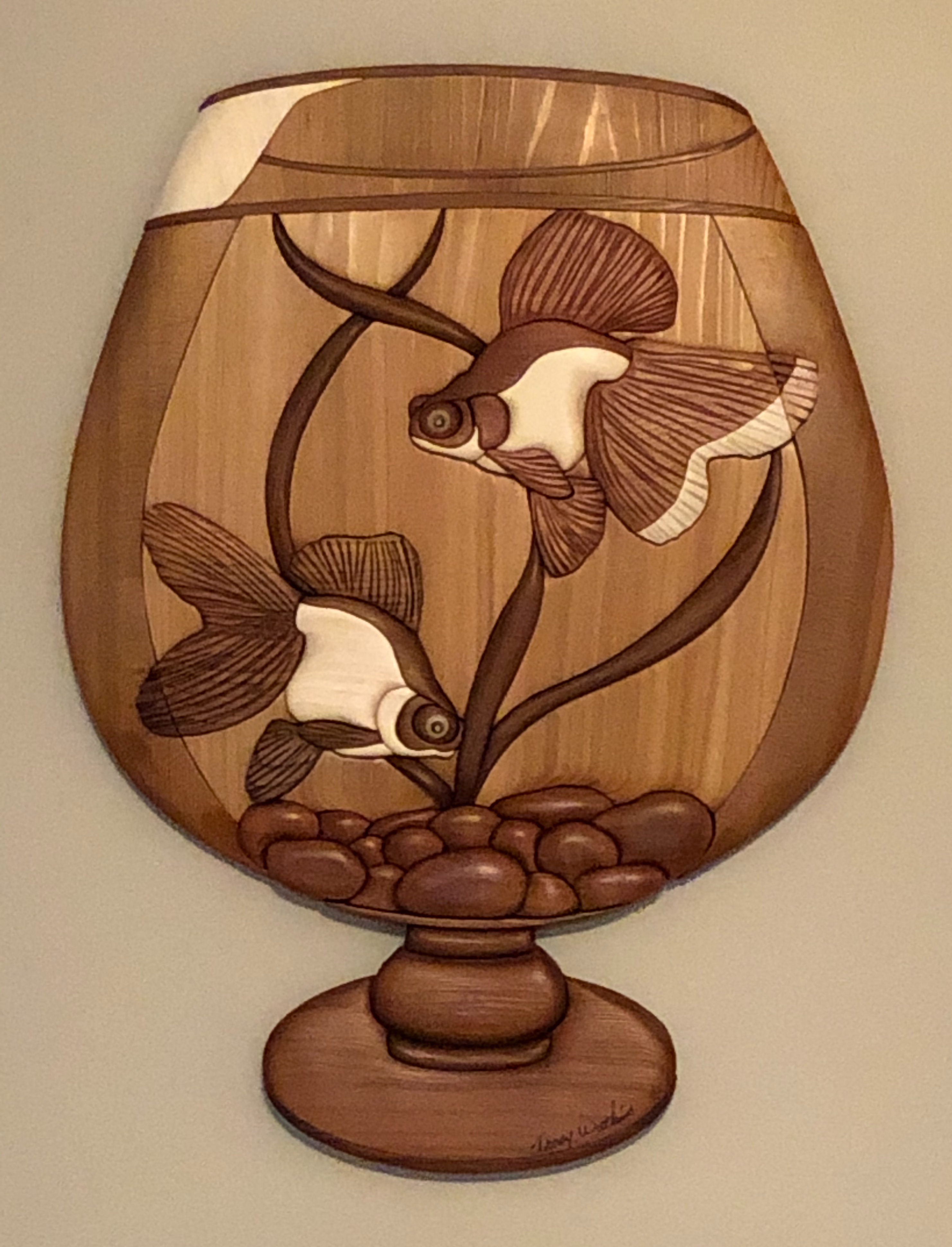 Intarsia Goldfish