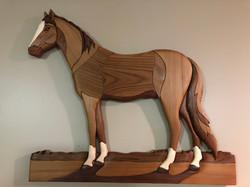 Intarsia Stallion