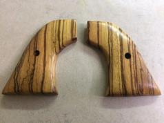 Zebra Wood Pistol Grips