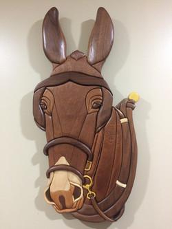 Intarsia Mule