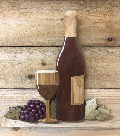 Intarsia Wine Still LIfe   $285.  SOLD