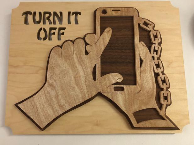 Turn It Off    $25.
