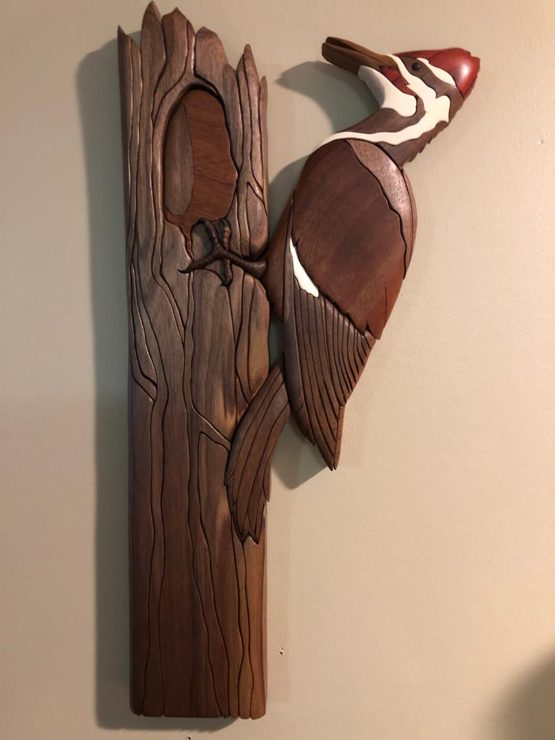 Wood Pecker  $250. SOLD