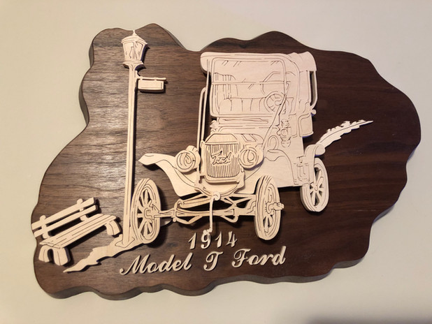 Model T Ford   $40.