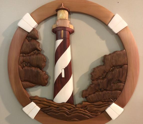 Intarsia St. Augustine FL Lighthouse   $285.