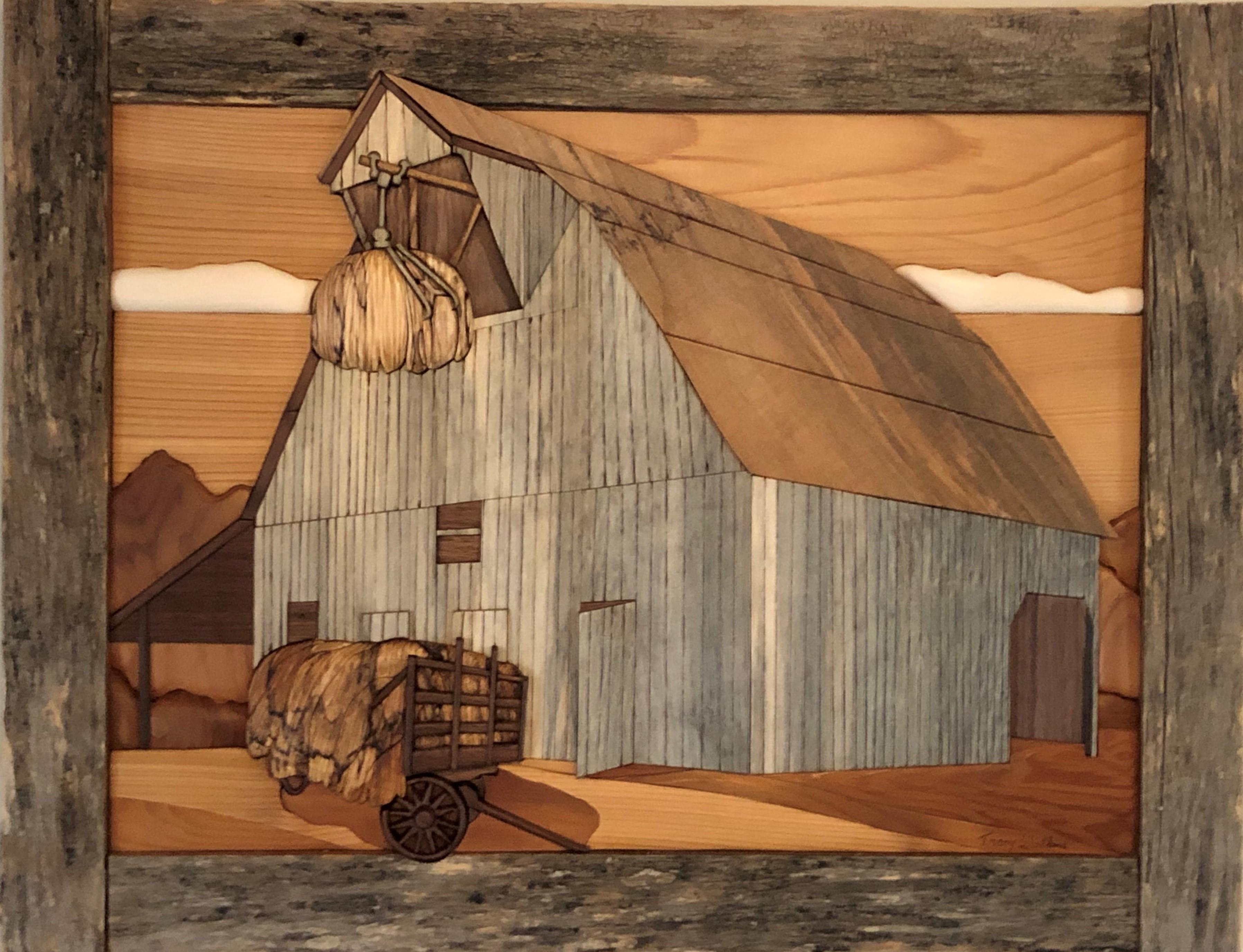 Intarsia Hay Barn
