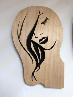 Lady in Wood