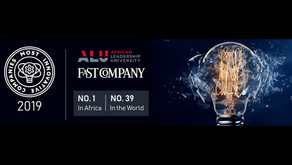 ALU is named #1 Most Innovative Company in Africa