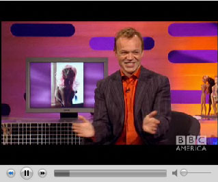 On Graham Norton!