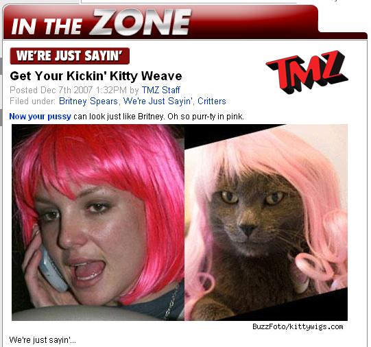 Featured on TMZ