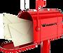Image mailbox, Wright Landscape