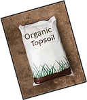 Image bag of topsoil, Wright Landscape