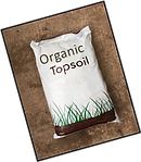 Image bag of topsoil, Wright Landscape